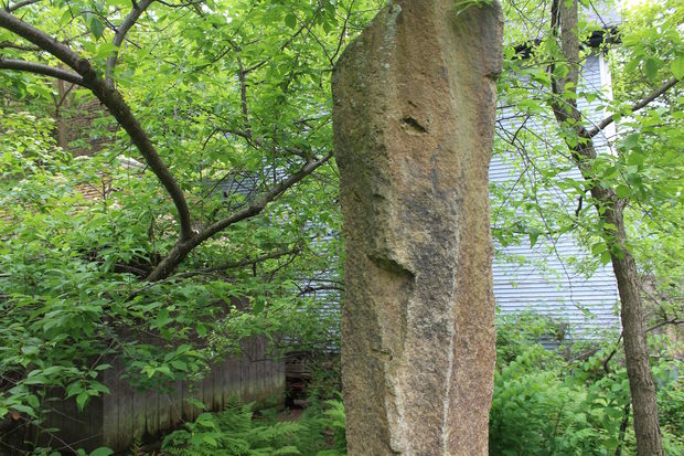 Chuck Thurow is selling his Kenwood home, complete with bronze age Indonesian megaliths.