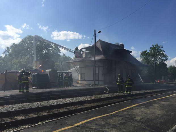 115th Street Metra Depot Fire