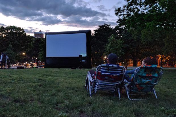 Queens residents can enjoy several free film screenings this weekend.
