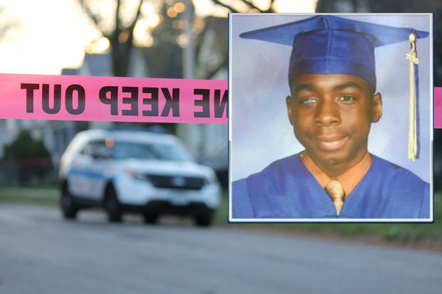 Jervon Morris, 18, was killed near his home in Longwood Manor.