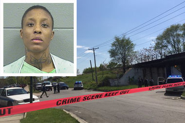 Deangela Eaton, 25, is accused of shooting an officer in his chest May 12. He wore a bulletproof vest and survived.