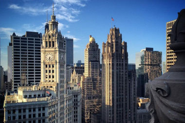 LondonHouse's rooftop has stunning views at Michigan and Wacker.