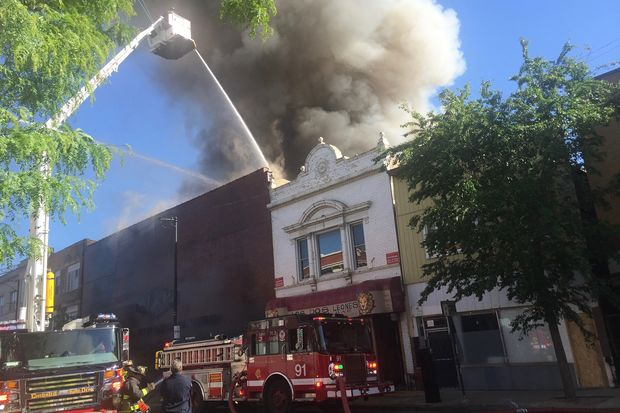 Massive Fire At Furniture Store Shuts Down Milwaukee Avenue Avondale Dnainfo Chicago