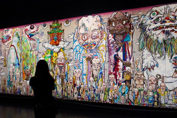 murakami show the most popular mca exhibit ever outselling even