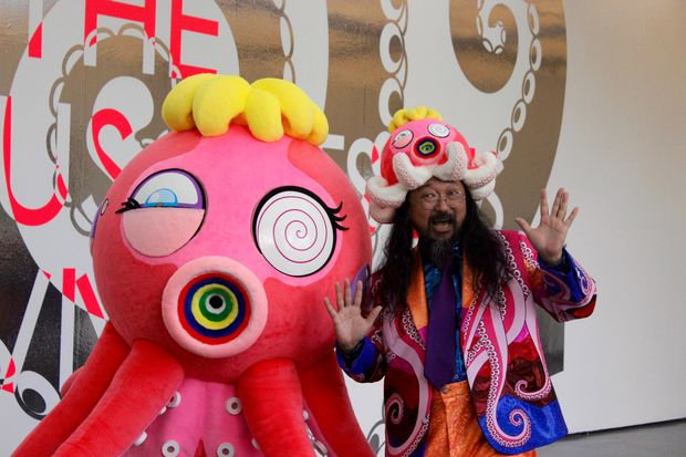 a peek inside the japanese pop art of takashi murakami now at the