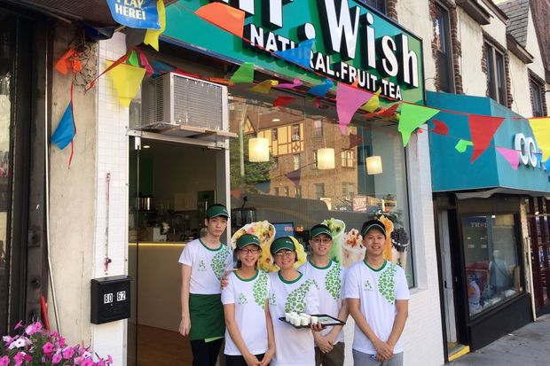 Mr. Wish opened recently at 80-62 Lefferts Blvd.