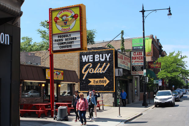 The Wiener's Circle boasts of being compliant with the Paris Climate Accord — no matter what President Trump does.