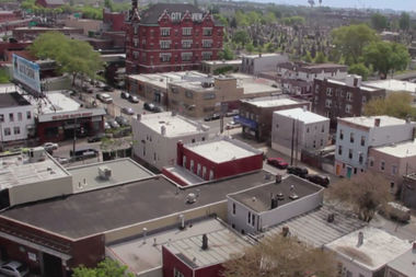 A shot of the neighborhood from Hank Linhart's
