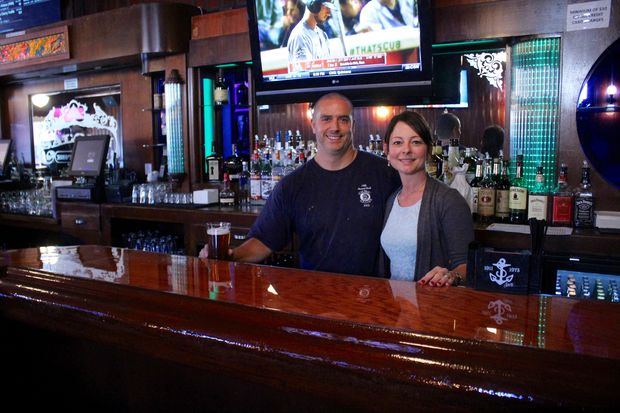 The owners of The Garage Bar & Sandwiches in Norwood Park rehabilitated a dive bar on Addison Street.