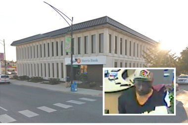 Rodney Hill Jr. is charged with robbing the BMO Harris Bank at 6400 S. Pulaski Rd.