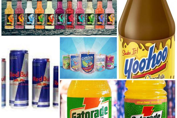Gatorade, Capri Sun and San Pellegrino Orange are among the hundreds of beverages subject to the tax.