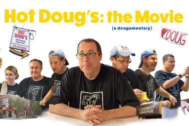 The film documents Hot Doug's final weeks and will make its debut June 21 at the Davis.