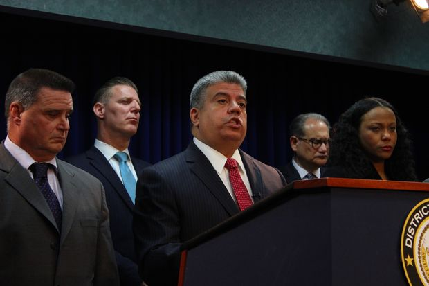 Acting District Attorney Eric Gonzalez scared off challenges from five challengers.