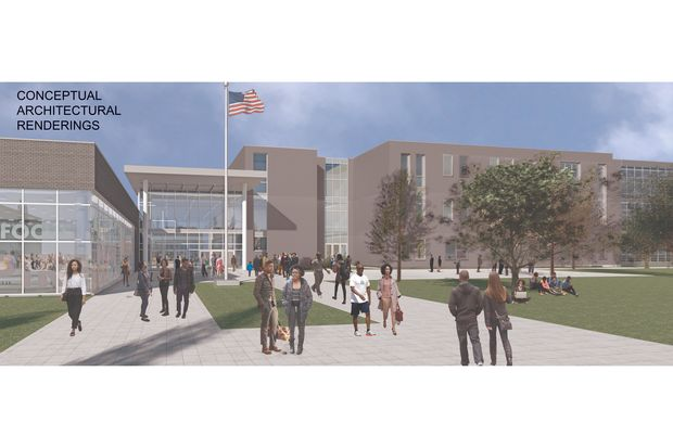 The new Englewood High school proposal.