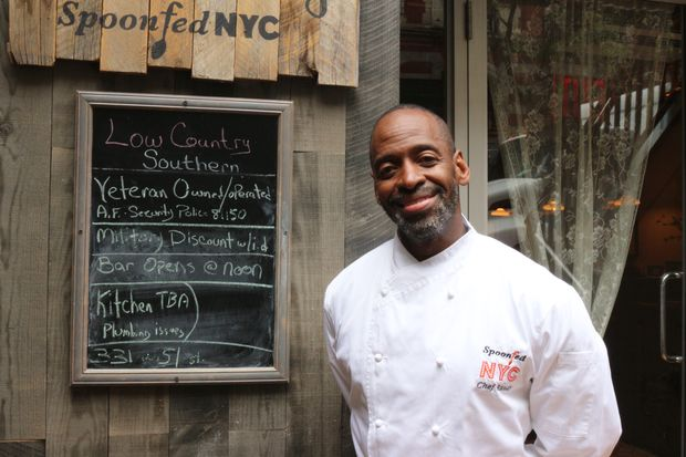After dealing with hurdles for months, chef Randy Stricklin-Witherspoon has opened Spoonfed NYC.