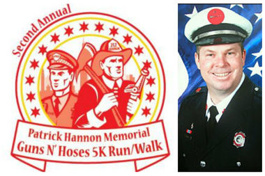 The second annual Guns N' Hoses 5k Run/Walk will be held at 7:30 a.m. Saturday. The race honoring the late Lt. Patrick Hannon begins and ends at Christ the King Parish in Beverly.