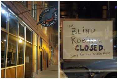 The Blind Robin has closed.