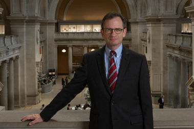 David Weiss is the new CEO at the Metropolitan Museum of Art.