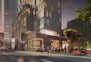 A new luxury building to open in Fort Greene this fall has 49 middle-income affordable units.