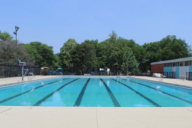 A 13-year-old girl nearly drowned in Kennedy Park Pool Thursday afternoon. Lifeguards, ambulance personnel and fellow swimmers worked to revive her on the pool deck at 11320 S. Western Ave.