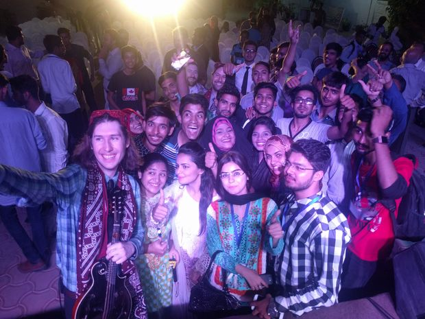 The Rogers Park native band, Henhouse Prowlers, has been traveling around the world spreading peace and recently returned from a trip from Pakistan.