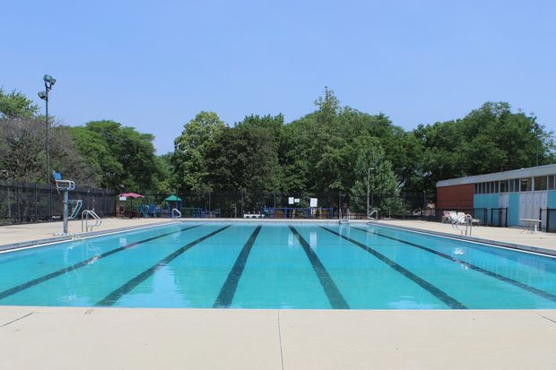 The pool at Kennedy Park opens Friday. A pool pass is required for all swimmers. The passes are free to Chicago residents with proof of residency.