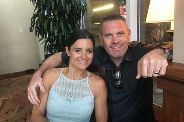 Steve and Nicole O'Brien, the owners of BRGRBelly and BeefBelly