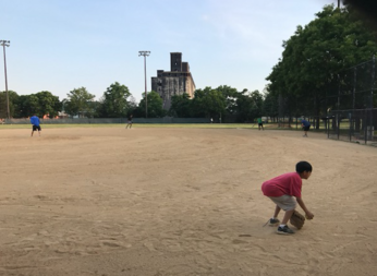 Ballfield 9 is among the most contaminated sites at Red Hook Park.