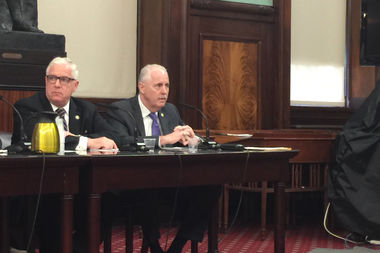 Deputy Commissioner of Intelligence and Counterterrorism John Miller and Chief of Detectives Robert Boyce testified at a City Council hearing that a bill to provide public oversight of surveillance technology would be a threat to the NYPD and New Yorkers' safety.