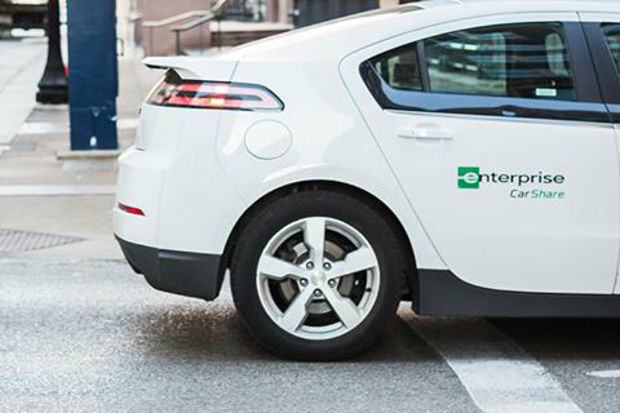 Enterprise CarShare has shut down new reservations, citing vandalism, theft and fraud in the Chicago area.