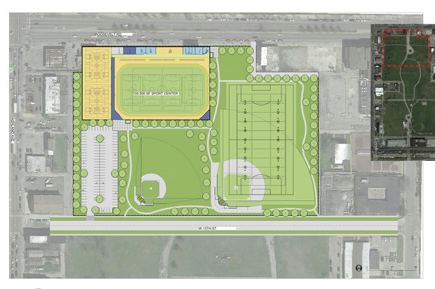 A new $25 million recreational center is reportedly planned forAddams/Medill Park on the Near West Side.