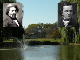 Citing Stephen Douglas' racist past, a group of students want Douglas Park renamed Douglass Park — after black abolitionist Frederick Douglass.