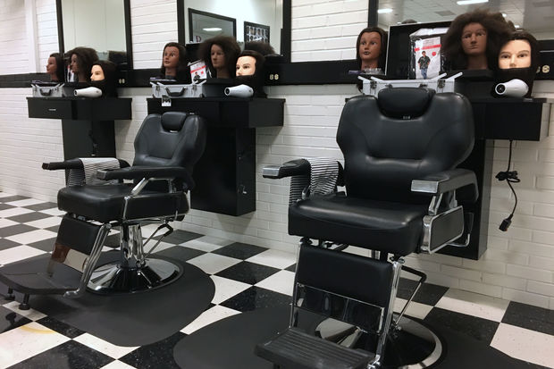 Eight inmates will train to become licensed barbers at STAR Barber College, a new initiative inside the Juvenile Temporary Detention Center at 1100 S. Hamilton Ave.