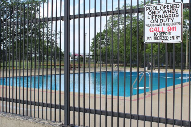 The pool at Mount Greenwood Park opens Friday. It is free to swim in the pool, although a pool pass is required. The passes are handed out by Chicago Park District personnel in the field house.