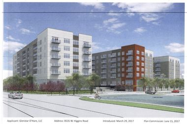 The seven-story building would include 297 apartments and 270 parking spaces.
