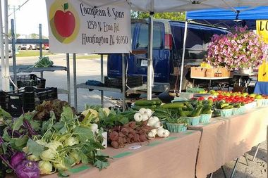 Compeon and Sons will join other vendors to offer fresh produce at the market Saturday.
