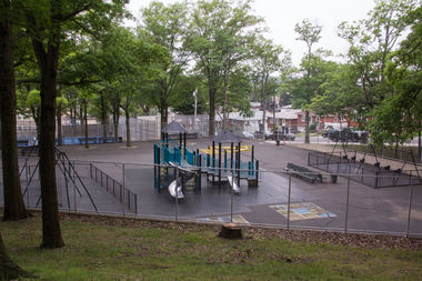 The city completed it's $1.6 million renovation of Terrace Playground in Grymes Hill.