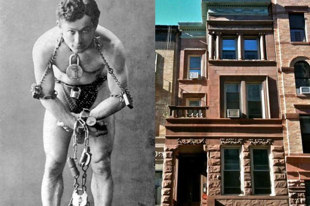 Houdini lived in the home for more than two decades before his untimely death.