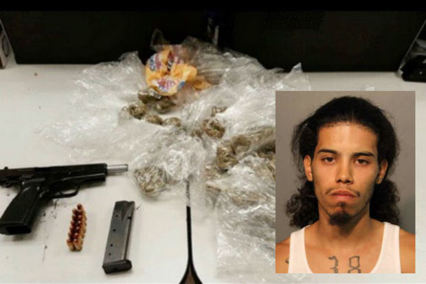 A man caught by police with drugs and a gun inHumboldt Park Friday morning has been charged, officials said.