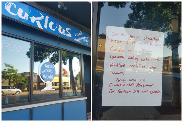 Curious says it has closed and is blaming