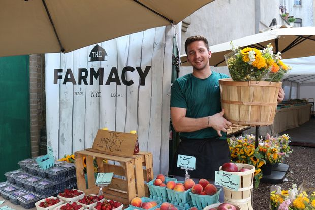 """The neighborhood is starving for something fresh,"" Farmacy NYC owner Harold DeLucia said."