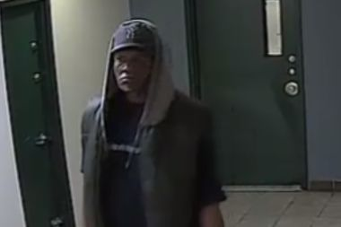 The suspect was spotted on video burglarizing an apartment building in Morrisania.