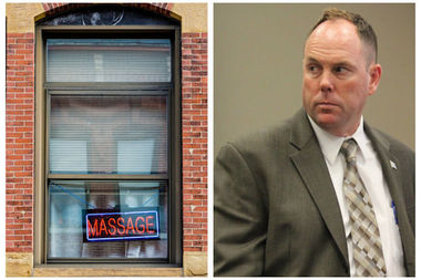 A measure authored by 19th Ward Ald. Matt O'Shea designed to crack down on massage parlors that exploit victims of human trafficking was approved by a key city panel Wednesday.