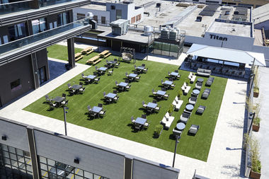 estate garden grill debuted june 14 on the third floor of the hotels newly constructed estate - Garden Grill