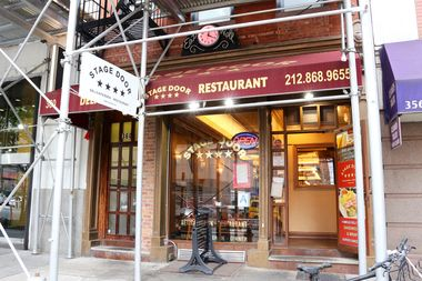 stage door deli flooded with fecal matter due to bad pipes suit