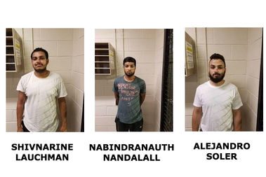 The three men said they purchased the illegal fireworks at a store in Westchester, NY.