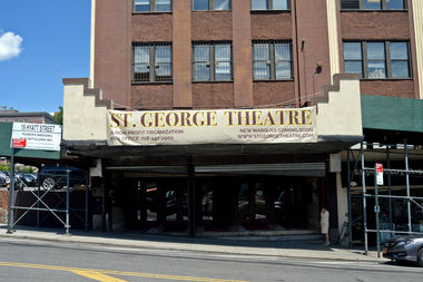 The St. George Theatre will close during the summer for a $5.2 million project that will renovate its mezzanine section and install a new LED marquee.