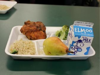The LunchStop program offers a free meal to anyone younger than 18 from 10:30 a.m. to 12:30 p.m. through Aug.25.