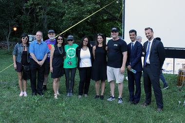 The Washington Heights BID and community partners celebrated the launch of the programming under the city's Neighborhood 360° initiative Monday night in Inwood Hill Park.