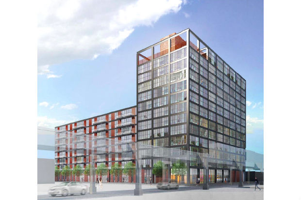 13 story apartment tower proposed on west end of west loop west loop chicago dnainfo. Black Bedroom Furniture Sets. Home Design Ideas